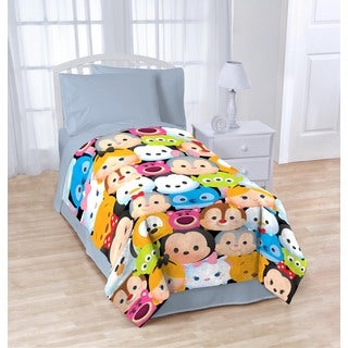 Disney Tsum Tsum Stack Em Up Plush Blanket