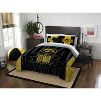 The Northwest Co COL 849 Iowa Modern Take Full/Queen 3-piece Comforter Set