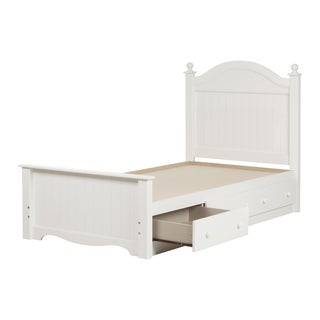 South Shore Savannah 39-inch 3-drawer Laminated Twin Bed Set