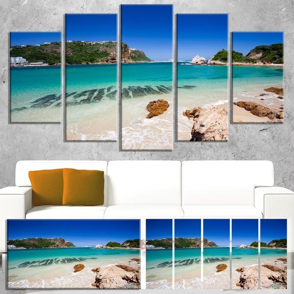 Shop Designart Beautiful Knysna Beach South Africa Large