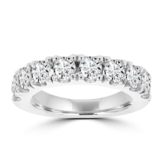 La Vita Vital 14K White Gold 2.05ct TDW Round Diamond Wedding Band (VS-SI1, H-I)