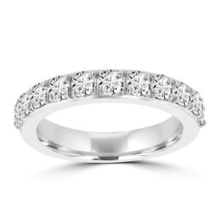 La Vita Vital 14k White Gold Diamond 1 1/4ct TDW Wedding Band (VS-SI1, G-H)