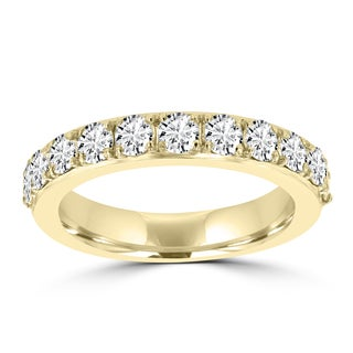 La Vita Vital 14K Yellow Gold 1.25ct TDW Diamond Wedding Band - White G-H