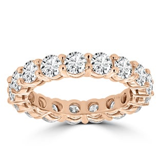 La Vita Vital 14k Rose Gold Diamond 4ct TDW Wedding Band (VS-SI1, G-H)