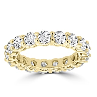 La Vita Vital 14K Yellow Gold Diamond 4ct TDW Wedding Band (VS-SI1, G-H)