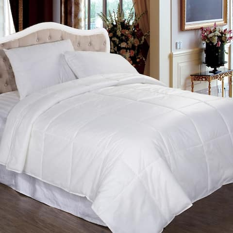 Performance Textiles Bed Bug and Dust Mite Control Water Resistant Down Alternative Comforter