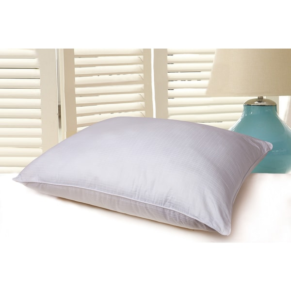Nanofibre Water and Stain Resistant 400 Thread Count Cotton Bed Pillow - White