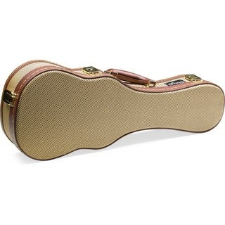 Stagg GCX-UKS GD Vintage Style Tweed Hard Case for Soprano Ukulele