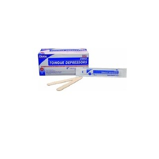 Dukal Sterile Wood Adult Tongue Depressors (Box of 100)