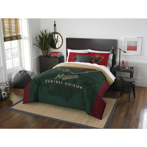 The Northwest Company NHL 849 Wild Draft Full/Queen Comforter Set