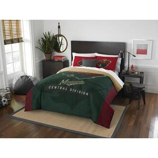 The Northwest Company NHL 849 Wild Draft Full/Queen Comforter Set