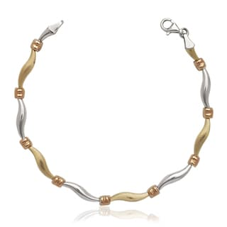 Stampato 14K Yellow Gold/Sterling Silver 7.25-inch Bracelet