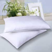 Nanofibre Cotton Cover Down Alternative Water and Stain Resistant Bed Pillow (Set of 2)