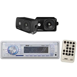 Pyle KTMRGS60 In-Dash Marine AM/FM USB/SD Stereo Player Receiver Aux-In for iPod/MP3