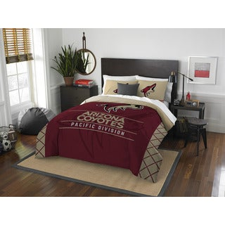 The Northwest Company NHL Arizona Coyotes Draft Full/ Queen 3-piece Comforter Set