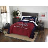 The Northwest Company NHL Washington Capitals Draft Full/Queen 3-piece Comforter Set
