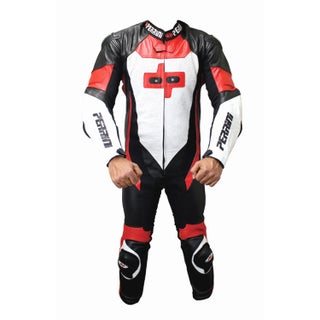 Perrini Multicolored Leather 1-piece Motorcycle Racing Suit (5 options available)