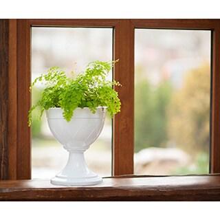 Lilia Urn Flower Pot (Set of 3) (Terracotta), Tan (Plasti...