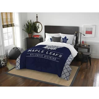 The Northwest Company NHL Toronto Maple Leafs Draft Full/Queen 3-piece Comforter Set|https://ak1.ostkcdn.com/images/products/13253885/P19967089.jpg?impolicy=medium
