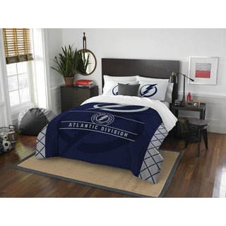 The Northwest Company NHL 849 Ligthning Draft Full/Queen 3-piece Comforter Set