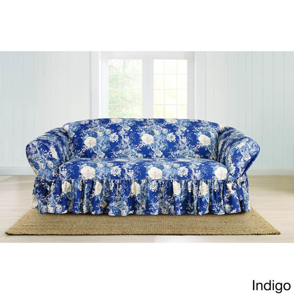Sensational Shop Sure Fit Ballad Bouquet Sofa Skirted Slipcover Free Ibusinesslaw Wood Chair Design Ideas Ibusinesslaworg