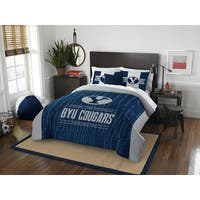 The Northwest Company COL 849 BYU Modern Take Full/Queen 3-piece Comforter Set