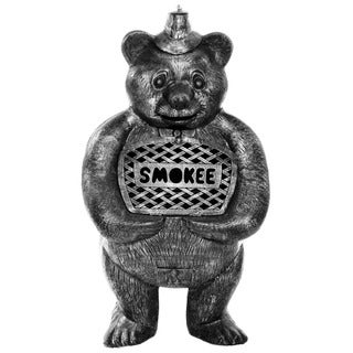 Smokee the Bear Cast Aluminum Chimenea
