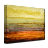Ready2HangArt 'Amber Coast' by Norman Wyatt, Jr. Canvas Art