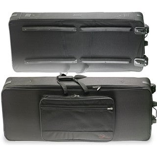 Stagg Terylene 56.3-inch Extra Deep Soft Keyboard Case with Wheels