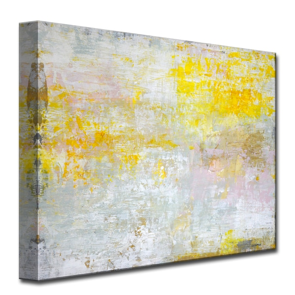 Sun in my Eyes' by Norman Wyatt, Jr. Abstract Wrapped Canvas Wall Art