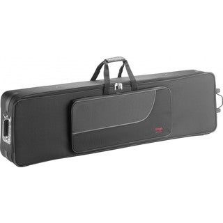 Stagg Terylene 54.3-inch Soft Keyboard Case with Wheels