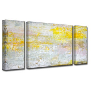 Ready2HangArt 'Sun in my Eyes' by Norman Wyatt, Jr. 3-Piece Canvas Art Set