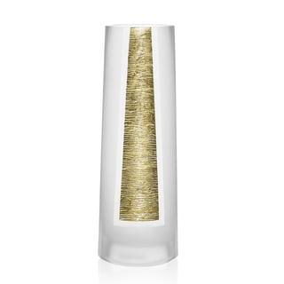 Badash Gold Glass 14.5-inch Standard Vase