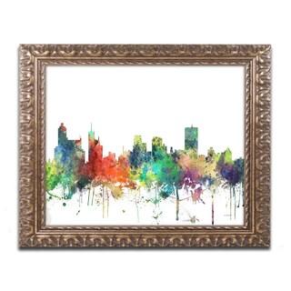 Marlene Watson 'Memphis Tennessee Skyline SP' Ornate Framed Art