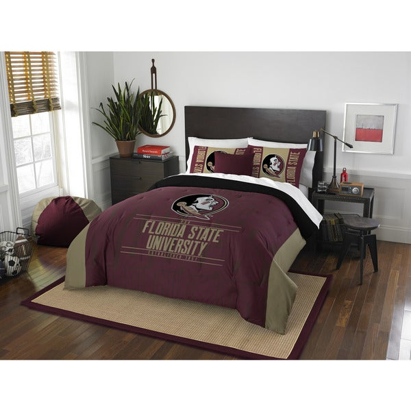 The Northwest Company Florida State Multicolored Polyester Full/Queen 3-piece Comforter Set