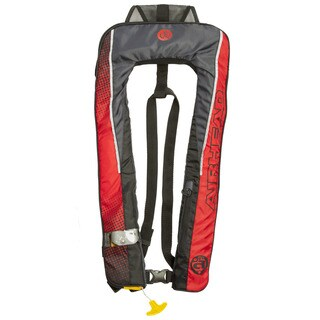Airhead Auto Deluxe Red Polyester 1F Inflatable Personal Flotation Device