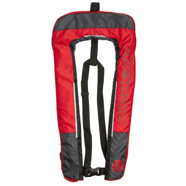 Airhead Red Polyester Inflatable PFD Life Vest