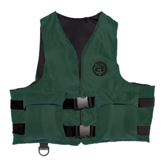 Adult Universal Hunter Green Polyester Sport Vest