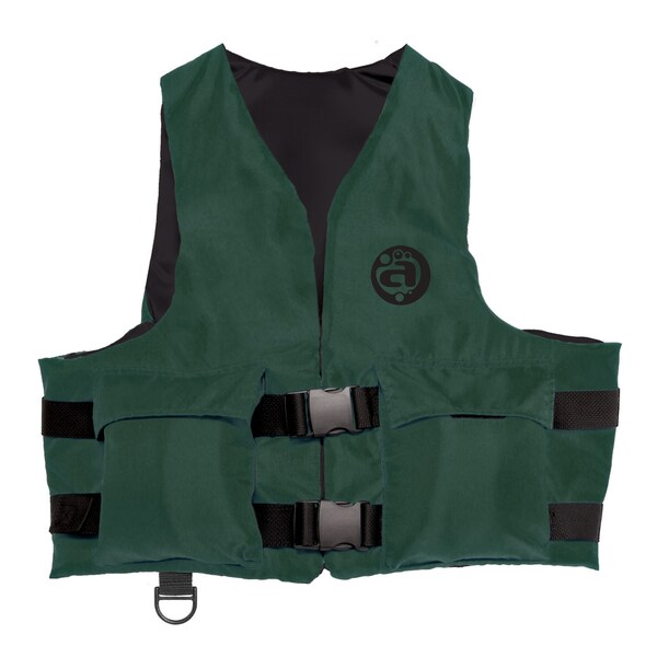 Adult Universal Hunter Green Polyester Sport Vest