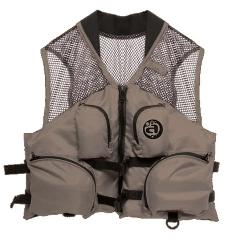 Airhead Deluxe Mesh Top Bark Nylon Fishing Vest