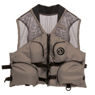 Airhead Deluxe Mesh Top Bark Nylon Fishing Vest (5 options available)