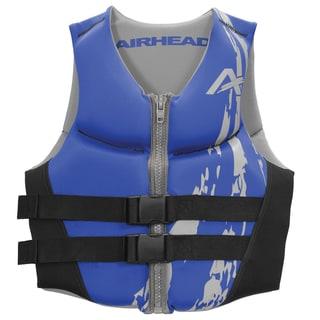 Airhead Swoosh Kwik-dry Neolite Blue Flex Vest