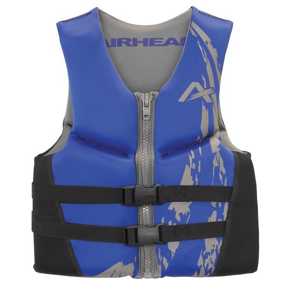 Airhead Youth SWOOSH Blue Kwik-Dry Neolite Flex Vest
