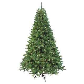 Puleo International 7.5-foot Pre-lit Augusta Pine Tree
