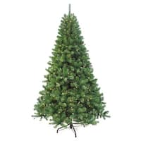 Puleo International 7.5-foot Pre-lit Augusta Pine Tree