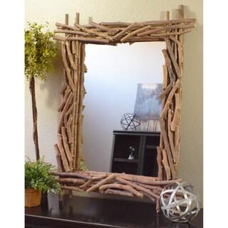 Quapaw Twig Rustic Mirror