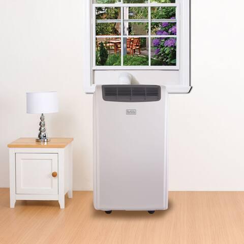Black+Decker 8,000 BTU Portable Air Conditioner - White - N/A