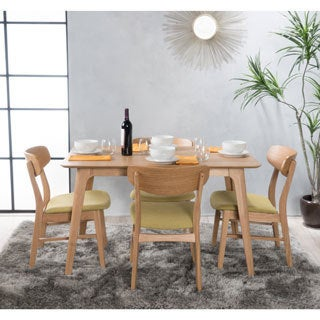 Lucious Mid-Century 5-piece Dining Set by Christopher Knight Home