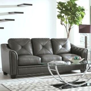 Lacasta Mid Century Modern Tufted Design Grey Living Room Sofa