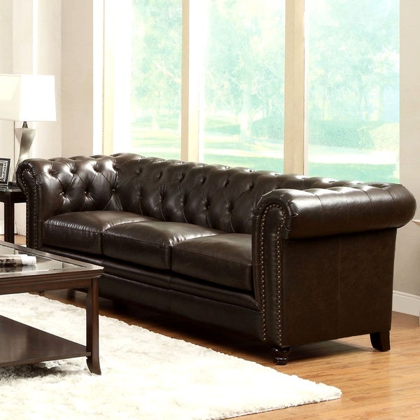 Shop Royal Mid Century Living Room Sofa With Tufted Design